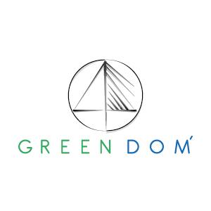 logo greendom construction
